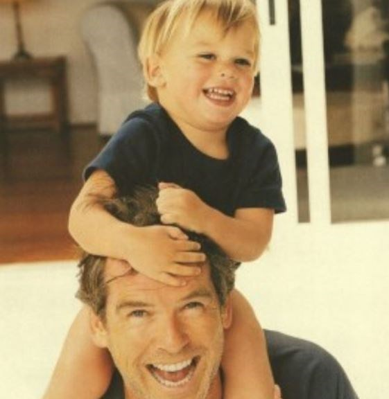**Paris Brosnan - Pierce Brosnan's son** <br><br> This is Pierce and Paris then...