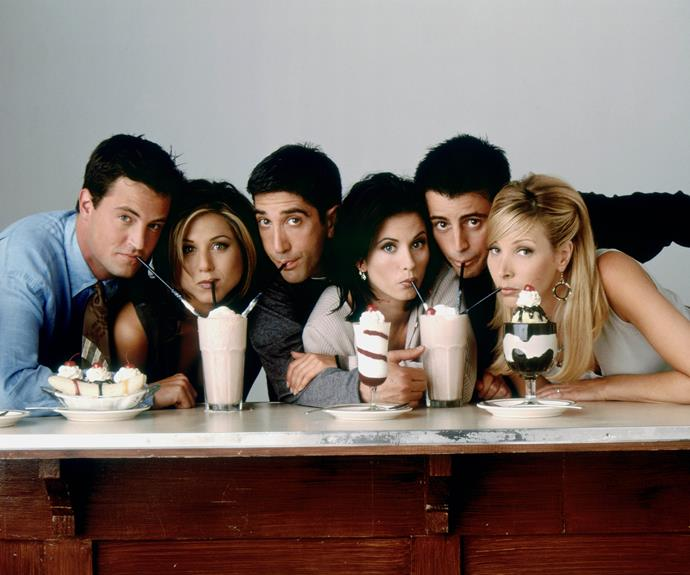 *Friends* aired from 1994 - 2004.