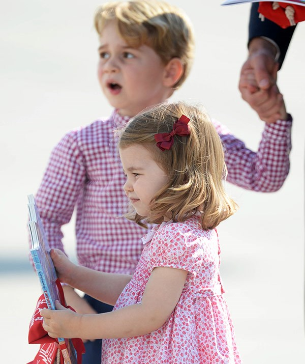 We can't wait to see George and Charlotte interact with their new sibling.