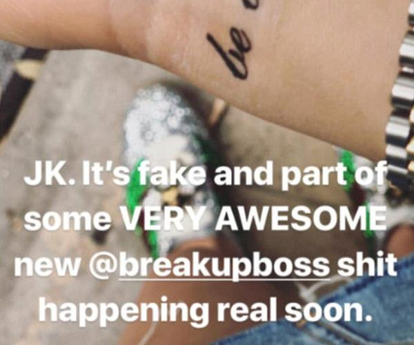 Zoë's confirms it's fake.