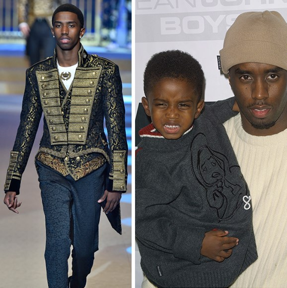 **Christian Combes - Sean 'P.Diddy' Combes' son** <br><br> Just like his entrepreneurial dad, Sean 'P.Diddy' Combes, Christian Combes, 20, has grand plans for a successful career spanning music, modelling and fashion.