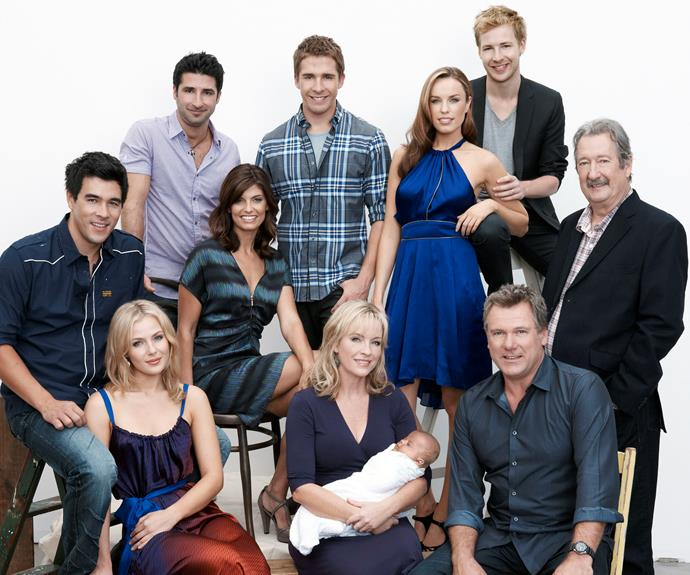We would love to see a *Packed To The Rafters* reunion, even if it's off screen.
