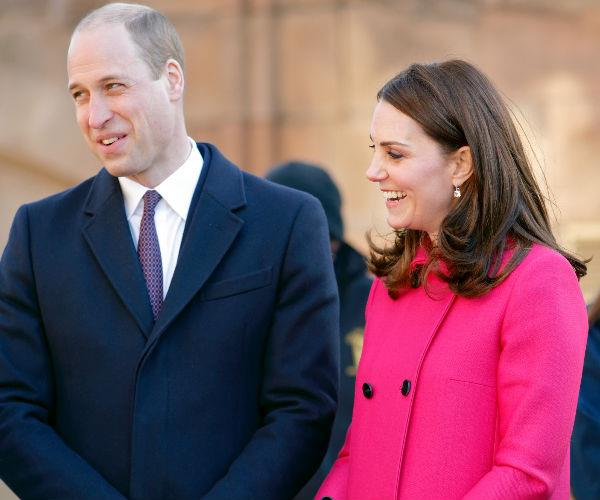 Kate and Wills were all smiles as they spent the day visiting a range of locations in the picturesque region.