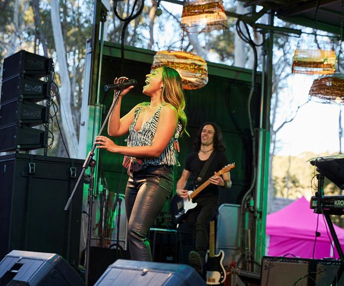 **Jessica Mauboy (2016)**  Australia's sweetheart played herself, performing on stage to a crowd of delighted fans at the Summer Grooves music festival. Neither she nor the townsfolk had any idea of the looming bushfire.