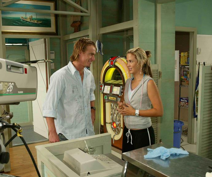 "**Lleyton Hewitt (2005)**  The Aussie tennis champ dropped into the diner and appeared in two scenes with his now-wife [Bec Hewitt.](https://www.nowtolove.com.au/tags/bec-hewitt|target=""_blank"")"