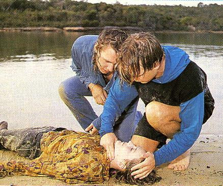 **Bobby dies in a boat accident (1993) **  Fan favourite Bobby is enjoying a speedboat ride with Luke (John Adam) and Adam (Mat Stevenson) when their boat strikes a log in the water. They're thrown from the vessel and Bobby is left brain-dead. Her loved ones –including father Donald (Norman Coburn), husband Greg (Ross Newton) and son Sam (Ryan Clark) – say goodbye before her life support is turned off. Bobby later makes a ghostly appearance by morphing out of a fridge when Ailsa (Judy Nunn) hallucinates.