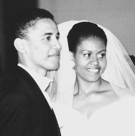 "The pair married on October 3, 1992, and Barack couldn't be happier with his bride of 26 years. ""The quality I love most about her is, she's honest and genuine,"" he says."