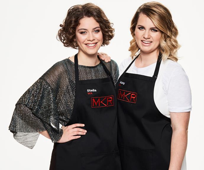 Perth contestants, Stella and Jazzey, are sure to bring a little spark to the kitchen.