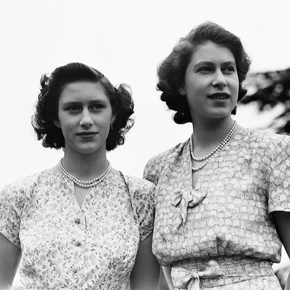 ''When my sister and I were growing up, she was made out to be the goody-goody one,'' Princess Margaret claimed to Andrew Duncan, who wrote *The Reality of Monarchy*.