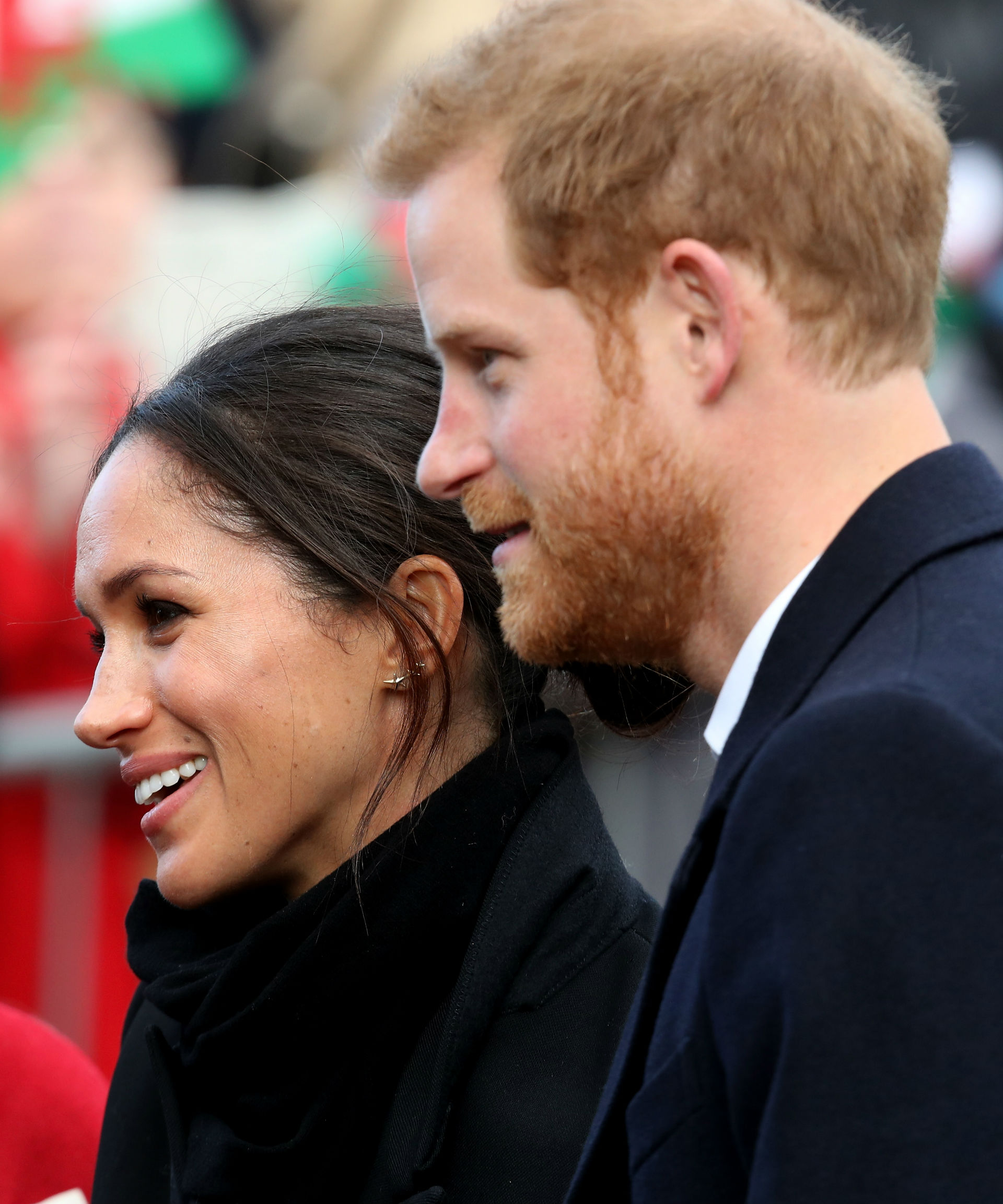 Meghan and Harry delight Cardiff crowds