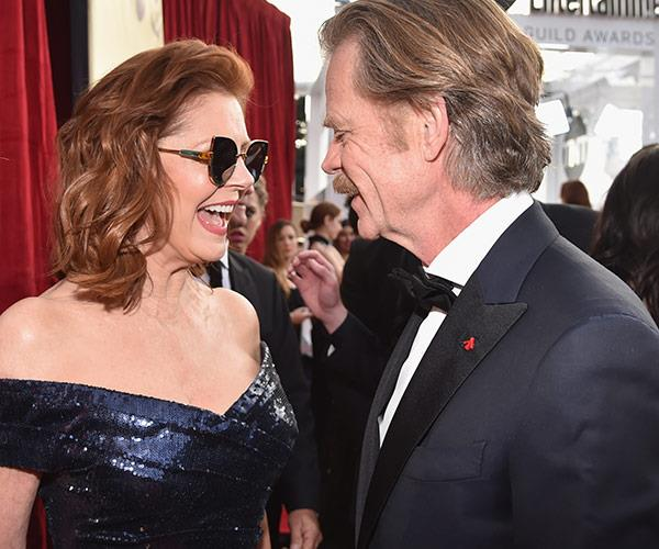 Susan catches up with William H. Macy.