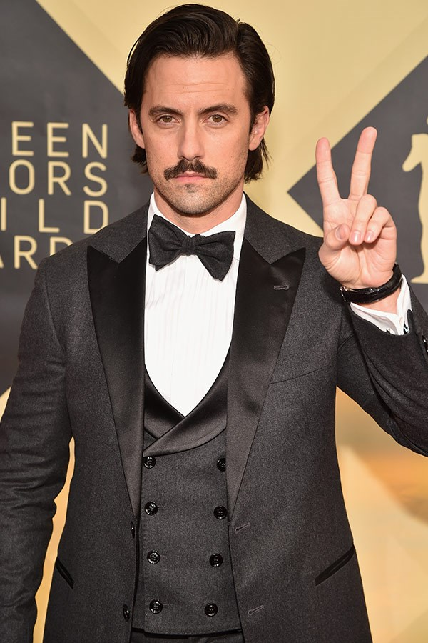 Milo Ventimiglia is all about the good vibes.