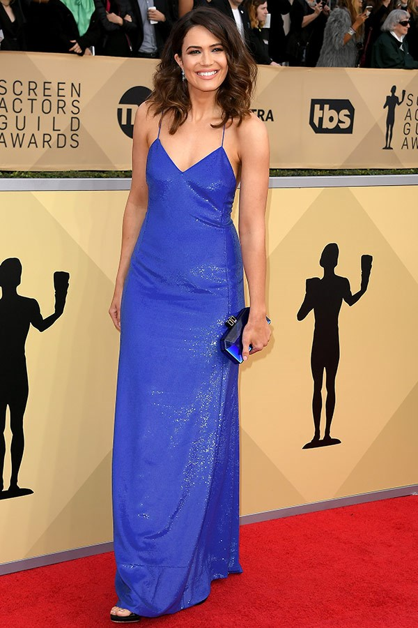 Mandy Moore, we salute you in Ralph Lauren.
