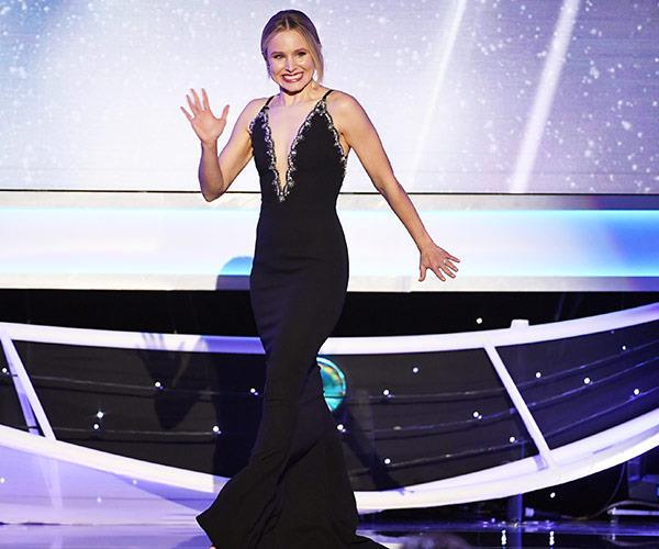 The SAGS very first host, Kristen Bell!