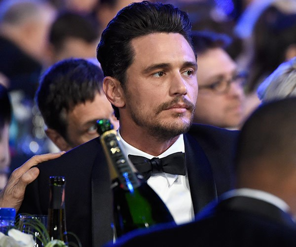 James Franco attended the SAG Awards despite recent sexual misconduct claims made against him.