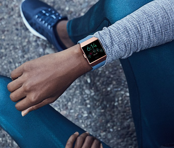 """Track your fitness progress without sacrificing your fashletic side with a [Fitbit Ionic Fitness Watch (Slate Blue/Burnt Orange), $399.](https://www.jbhifi.com.au/ipods-docks-fitness/fitbit/fitbit-ionic-smart-fitness-watch-slate-blue-burnt-orange/499759/
