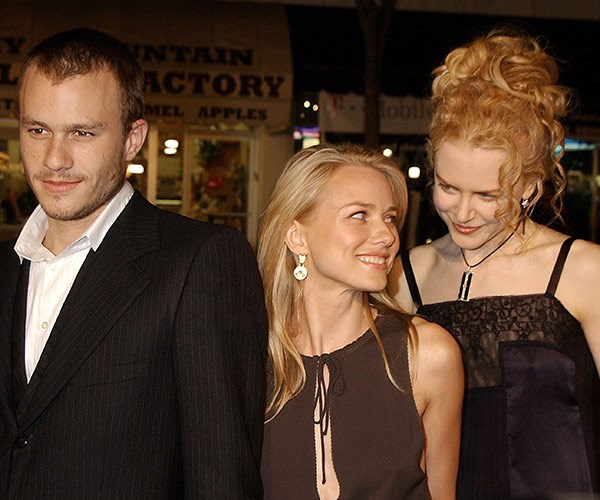 Pictured in 2002 with bestie Nicole Kidman at *The Ring* premiere.