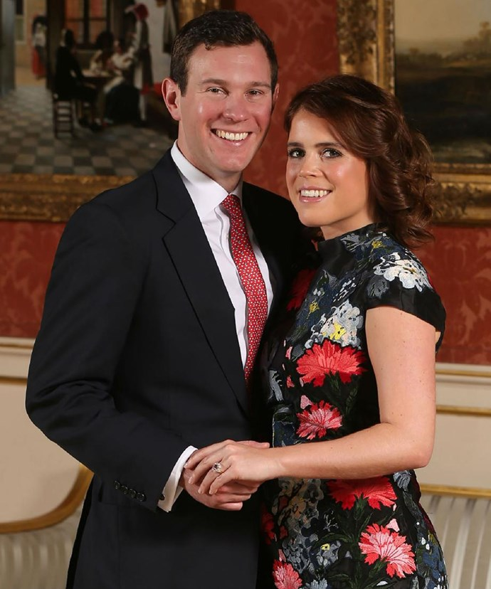 The happy couple confirmed their engagement news two months after Harry and Meghan.
