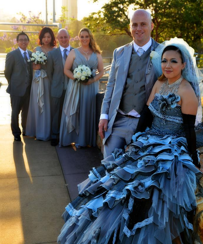 Me, Ryan and our bridal party.