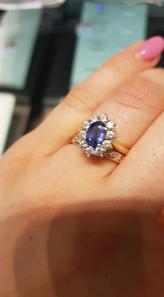 Brittany's amazing ring.