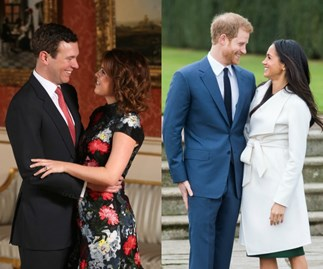 Princess Eugenie, Jack Brooksbank, Prince Harry, Meghan Markle