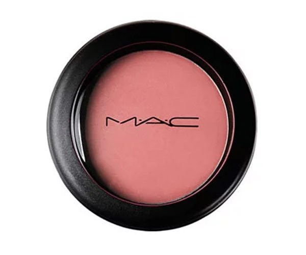"""I never leave home without creme blush."""