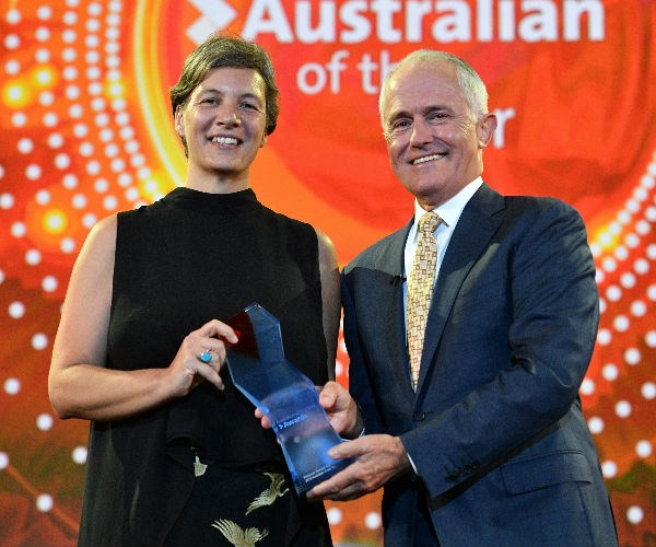 Congratulations! Michelle Simmons has been named Australian of the Year.