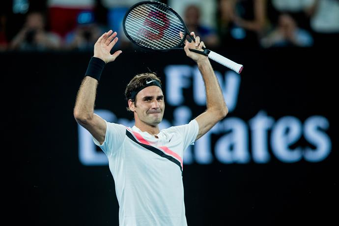 Roger's twentieth Grand Slam trophy happened to be his sixth from the Australian Open.