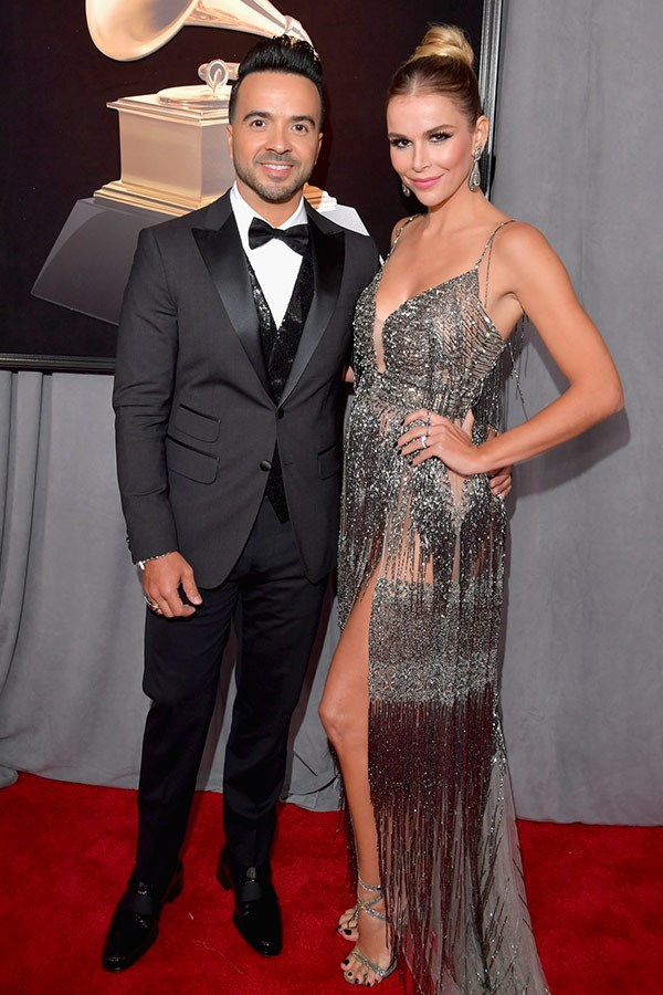 Luis Fonsi and model Agueda Lopez.