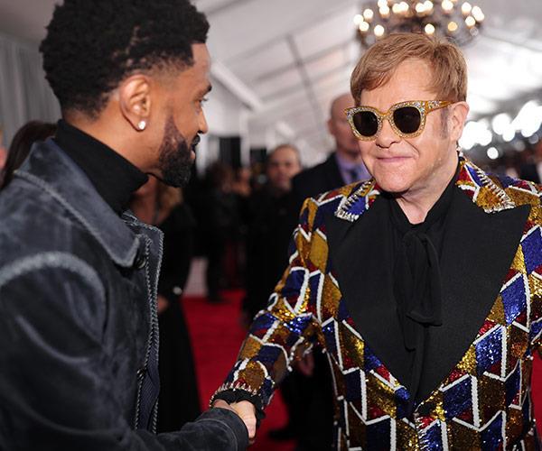 When Elton met Big Sean!