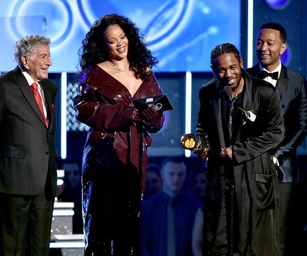 Congrats to Best Rap/Sung Performance by Kendrick Lamar featuring Rihanna.