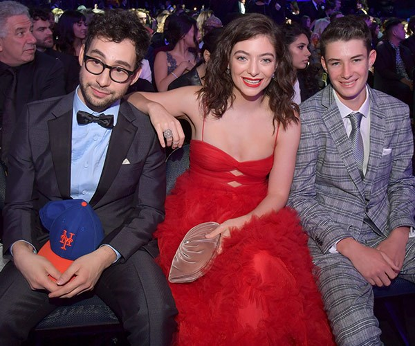 Jack Antonoff, Lorde and Angelo Yelich O'Connor.