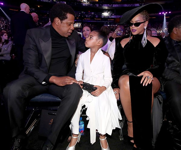 "And the Grammy for the cutest family goes to... Jay Z, [Blue Ivy](https://www.nowtolove.com.au/tags/blue-ivy-carter|target=""_blank"") and Beyonce!"