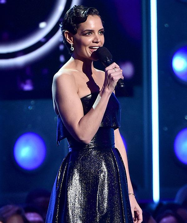 It's Katie Holmes 2.0: The star's Grammys appearance has everyone talking.