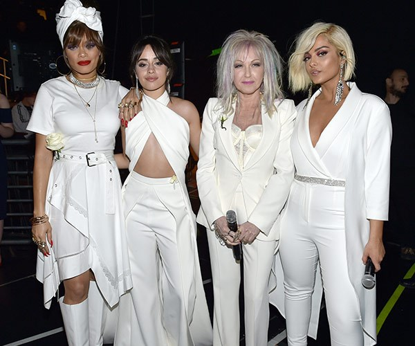 Andra Day, Camila Cabello, Cyndi Lauper and Bebe Rexha giving us girl power!