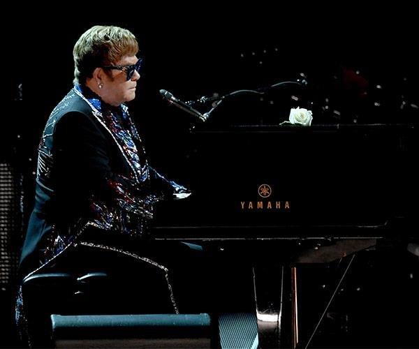 Elton John may be retiring but he's still the ultimate showman!