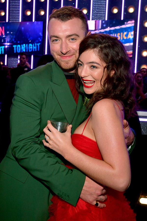 Cuddles for Sam Smith and Lorde.