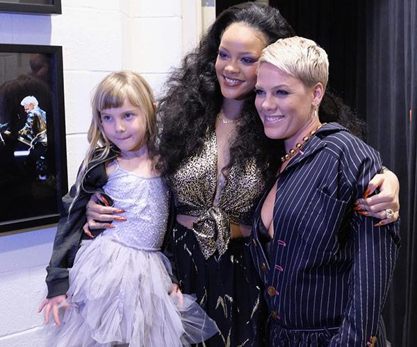 "Even [Rihanna](https://www.nowtolove.com.au/tags/rihanna|target=""_blank"") is a fan of Pink's adorable daughter."
