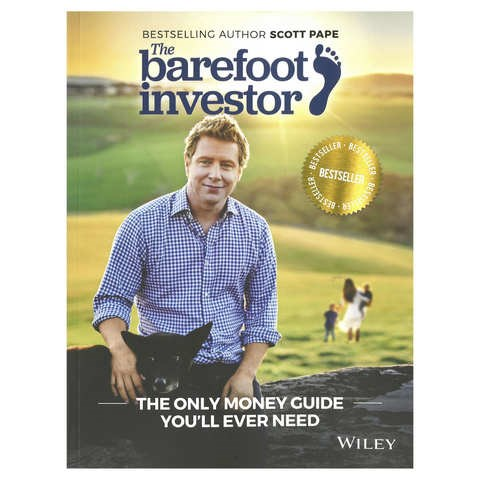 "[The Barefoot Investor by Scott Pape, $19.00.](http://www.kmart.com.au/product/the-barefoot-investor-by-scott-pape---book/1464329|target=""_blank""