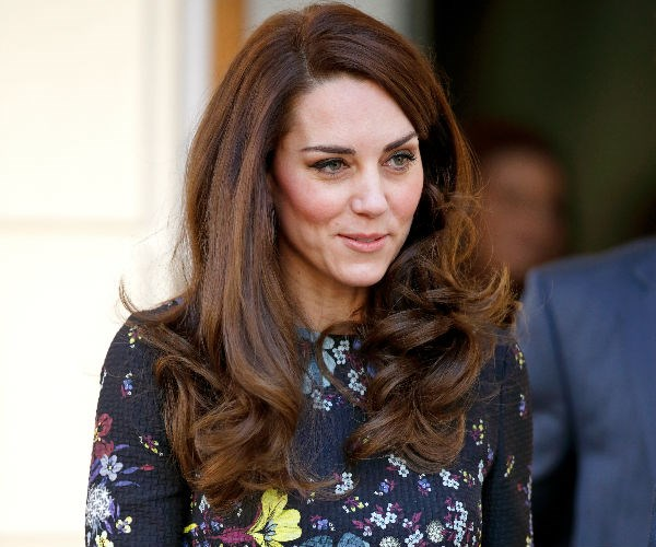 The Duchess has been sporting a shorter hairstyle since this photo was taken at the start of 2017.