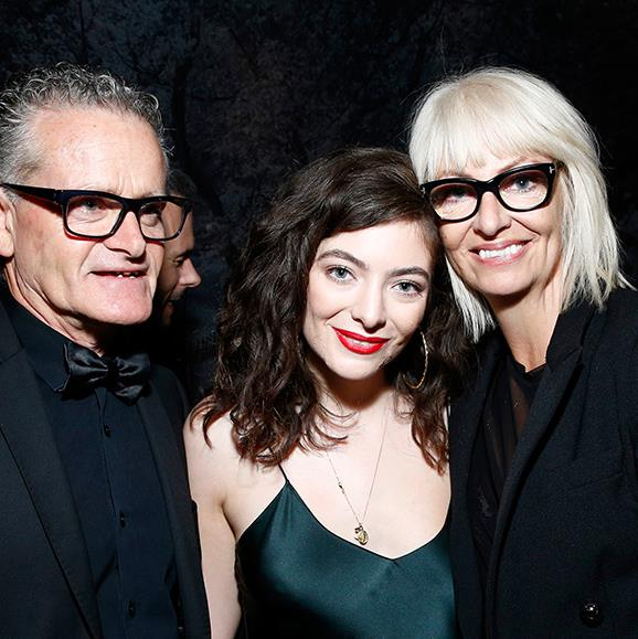 It's a family affair! Lorde brought her parents Vic O'Connor and Sonja Yelich to Universal Music Group's 2018 Grammy after party.