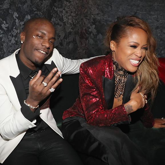 Young Paris and Eve had a ball at Universal Group's Grammy after party.