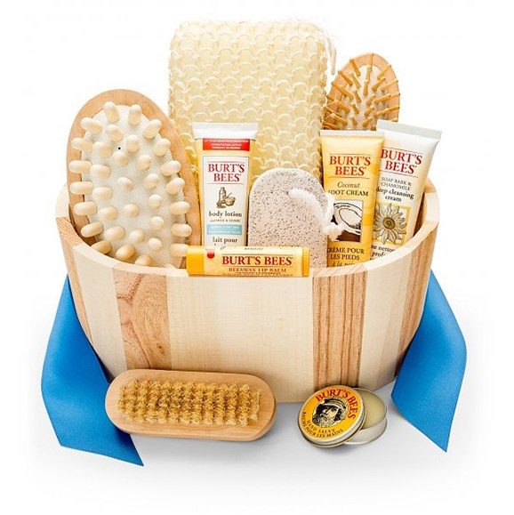 "Bath and Body Invigoration basket, $34.95, from [Gift Tree](https://www.gifttree.com/p3/2143/bath-and-body-invigoration-1?delivery_zip=|target=""_blank""