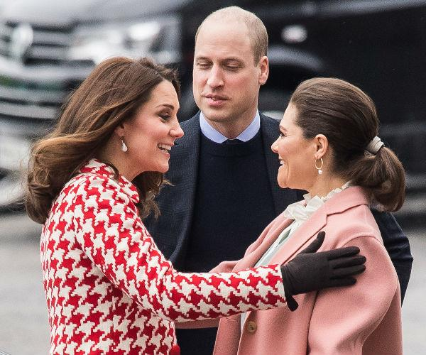 Firm friends already! Kate and Wills were accompanied by Princess Victoria and Prince Daniel on day two of their tour of Sweden and Norway.