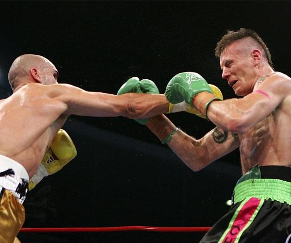 Danny Green and Anthony Mundine in their 2006 showdown.