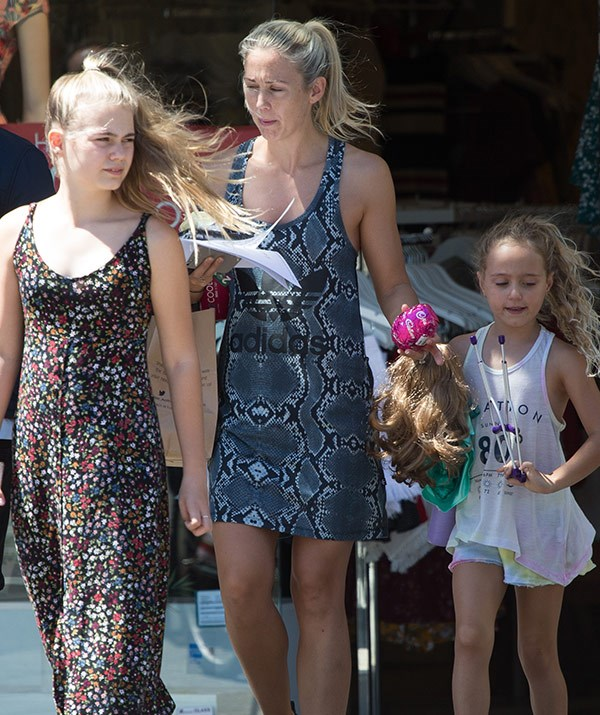 (L-R) Mia, Bec and Ava enjoyed a family outing in Melbourne recently.