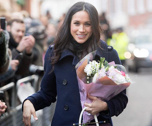 Meghan is already a godmother, and a natural with little ones.