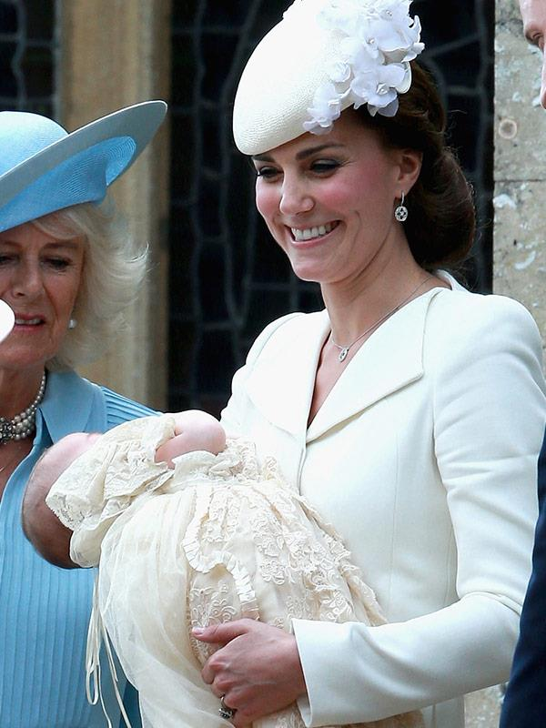 And who could forget sweet Charlotte's christening in 2015.