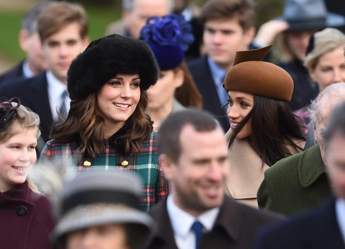 Duchess Catherine and Meghan are reportedly thick as royal thieves!