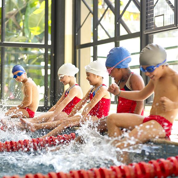 The $100 rebate will help families access healthy actives such as swimming, netball, soccer and athletics to name a few.